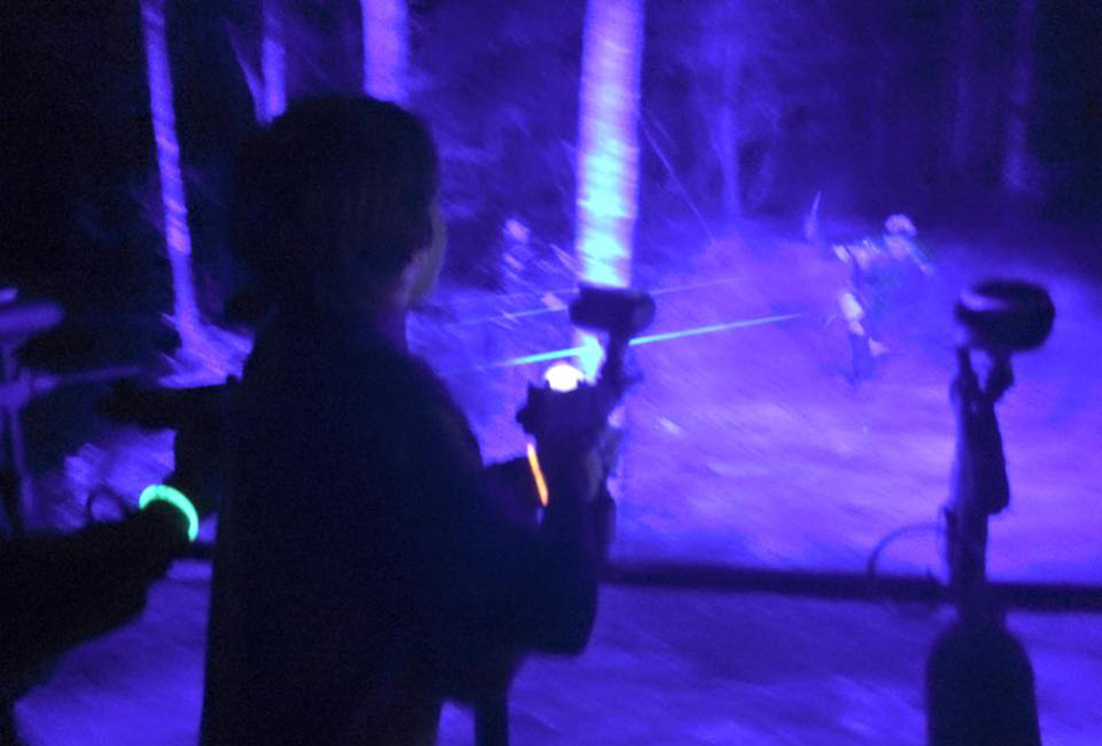 Zombie Hunt The Only Haunted Paintball Adventure With